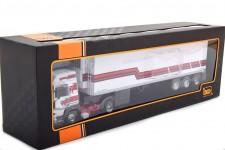 RENAULT R370 Turboleader Refrigerated Trailer 1986 - Ixo Models Scale 1:43 (TTR009)