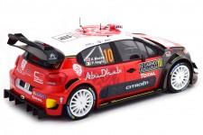 CITROEN C3 WRC Rally Monte Carlo 2018 K. Meeke / P. Nagle - Norev Scale 1:18 (181636)