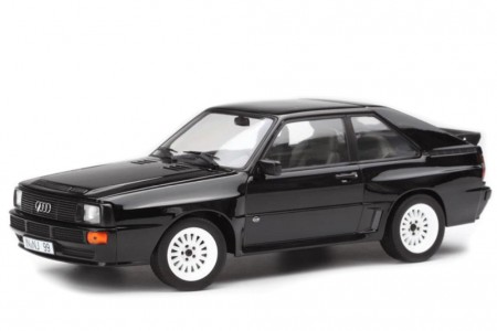AUDI Sport Quattro 1985 Negro - Norev Escala 1:18 (188315)