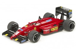 FERRARI 87/88C Formula 1 GP Monaco 1988 G. Berger - Decals included - GP Replicas Scale 1:18 (GP08C)