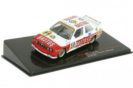 BMW M3 (E30) 24h Spa 1987 Bastos Racing Vermeersch / Fontanesi / Micangeli - Ixo Scae 1:43 (GTM129)