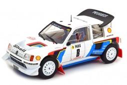 PEUGEOT 205 T16 N Rally Montecarlo 1985 B. Saby / J.F. Fauchille - Norev Escala 1:18 (184862)