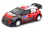 CITROEN C3 WRC Rally Mexico 2018 S. Loeb / D. Elena - Norev Scale 1:18 (181638)