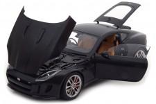 JAGUAR F-Type R Coupe 2015 Matt Black - AutoArt Scale 1:18 (73652)