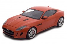JAGUAR F-Type R Coupe 2015 Naranja Metalico - AutoArt Escala 1:18 (73653)