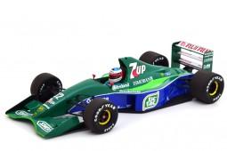 JORDAN 191 Formula 1 Debut GP Spa 1991 Michael Schumacher - Minicamps Scale 1:18 (510911801)