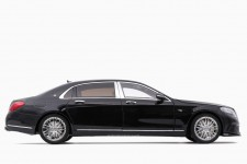 BRABUS MERCEDES-Benz S Class S600 900 Maybach 2018 Obsidian Black - Almost Real Escala 1:18 (ALM860102)
