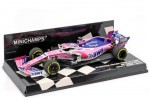 RACING POINT RP19 Mercedes 2019 Sergio Perez - Minichamps Scale 1:43 (417190011)