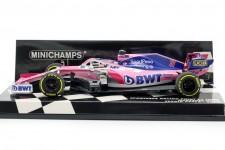 RACING POINT RP19 Mercedes 2019 Sergio Perez - Minichamps Escala 1:43 (417190011)