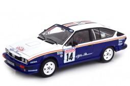 ALFA ROMEO GTV6 3rd Rally Tour de Corse 1986 Y. Loubet / J-M. Andrie - Solido Escala 1:18 (S1802303)