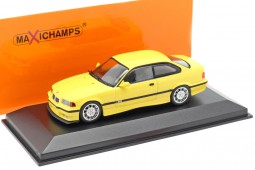 BMW M3 (E36) Coupe 1992 Yellow - Maxichamps Scale 1:43 (940022301)