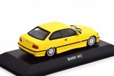 BMW M3 (E36) Coupe 1992 Amarillo - Maxichamps Escala 1:43 (940022301)