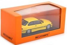 BMW M3 (E36) Coupe 1992 Yellow - Maxichamps Scale 1:43 (940022301)