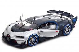 BUGATTI Vision GT 2015 Plata / Azul Carbono - AutoArt Escala 1:18 (70987)