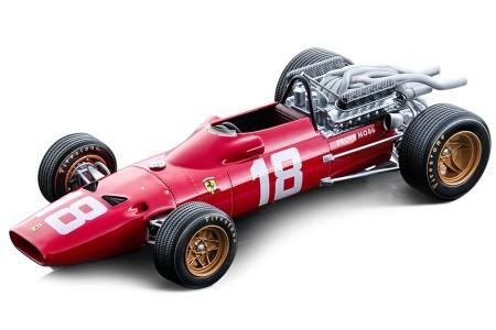 FERRARI 312 F1-67 Formula 1 GP Italia 1967 L. Bandini - Tecnomodel Escala 1:18 (TM18120A)