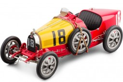 BUGATTI T35 No.18 National Colour Project Spain 1924 - CMC Models Escala 1:18 (B-016)