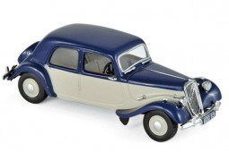 CITROEN 15CV Light 1949 Azul / Crema - Norev Escala 1:43 (153051)