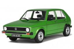 VOLKSWAGEN Golf MkI CL 1976 Metallic Green - Solido Scale 1:18 (S1800203)