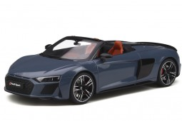 AUDI R8 Spider 2019 Grey - GT Spirit Scale 1:18 (GT256)