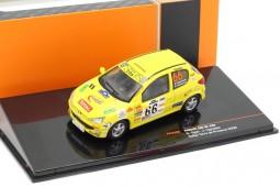 PEUGEOT 206 XS Rally Terre de Provence 2006 S. Ogier / J. Ingrassia - Ixo Models Scale 1:43 (RAM698)