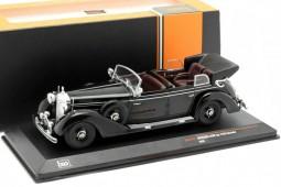 MERCEDES-Benz Type 770K Cabriolet 1938 Negro - Ixo Models Escala 1:43 (CLC317N)