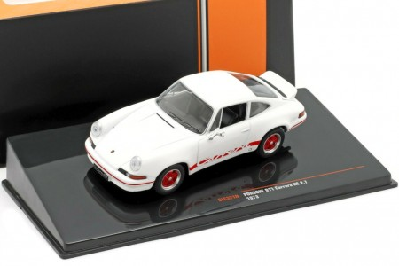 PORSCHE 911 Carrera RS 2.7 1973 Blanco - Ixo Models Escala 1:43 (CLC321N)