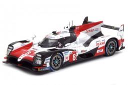TOYOTA TS050 Hybrid Winner 24h Le Mans 2018 S. Buemi / K. Nakajima / F. Alonso - Spark Scale 1:43 (43LM18)