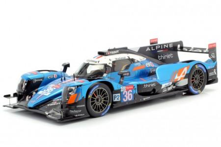 ALPINE A470 Ganador LMP2 24h Le Mans 2019 N. Lapierre / P. Thiriet / A. Negrao - Spark Escala 1:18 (18s432)