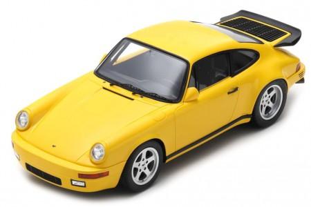 PORSCHE 911 RUF CTR Yellowbird 1987 - Spark Models Escala 1:18 (18s256)