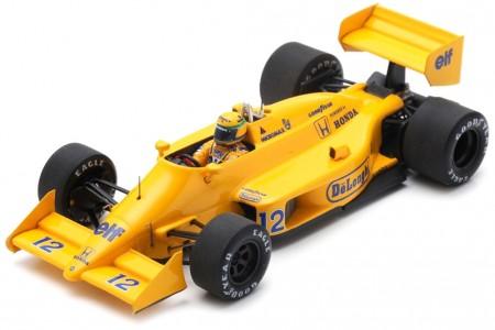 LOTUS 997 Ganador GP Monaco 1987 Ayrton Senna - Spark Models Escala 1:43 (s7131)