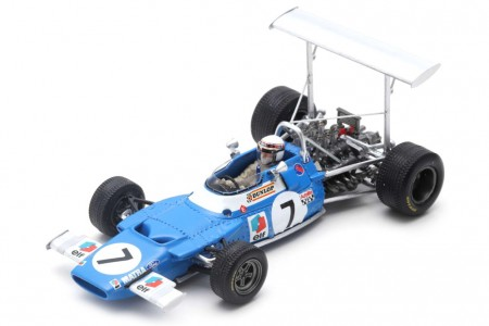 MATRA MS80 Ganador GP Spain 1969 Jackie Stewart - Spark Models Escala 1:43 (s7190)