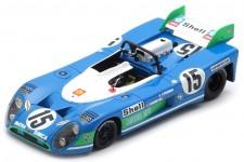 MATRA Simca MS 670 Ganador 24h Le Mans 1972 Pescarolo / Hill - Spark Escala 1:43 (43LM72)