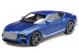 BENTLEY Continental GT 2018 Azul - Top Speed Escala 1:18 (TS0221)