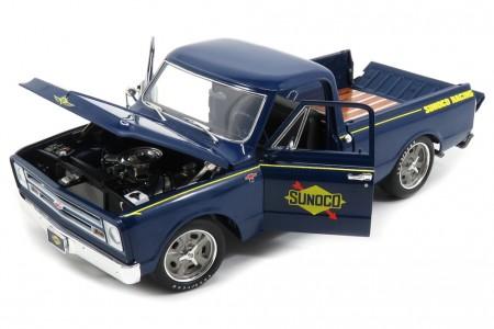 CHEVROLET C-10 Pick-up Shop Truck Sunoco 1967 - ACME Escala 1:18 (A1807211)