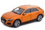 AUDI Q8 (4M) 2018 Naranja Metalico - Norev Escala 1:18 (188371)