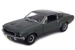 Ford MUSTANG GT390 - Bullitt Steve McQueen - 1968 - Greenlight Escala 1:18 (12822)