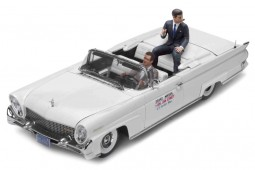 LINCOLN Continental MK III Convertible 1958 J.F. Kennedy - Figures Included - SunStar Scale 1:18 (4707)