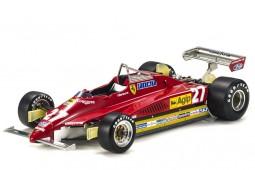 FERRARI 126 C2 1982 G. Villeneuve - GP Replicas Escala 1:18 (GP19A)