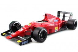FERRARI 640 F1 1989 Gerard Berger - Includes Marlboro Decals - GP Replicas Scale 1:18 (GP14C)