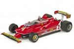 FERRARI 312 T5 Formula 1 1980 G. Villeneuve - GP Replicas Escala 1:18 (GP45B)