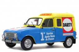 RENAULT 4 Darty 1988 - Solido Scale 1:18 (S1802204)