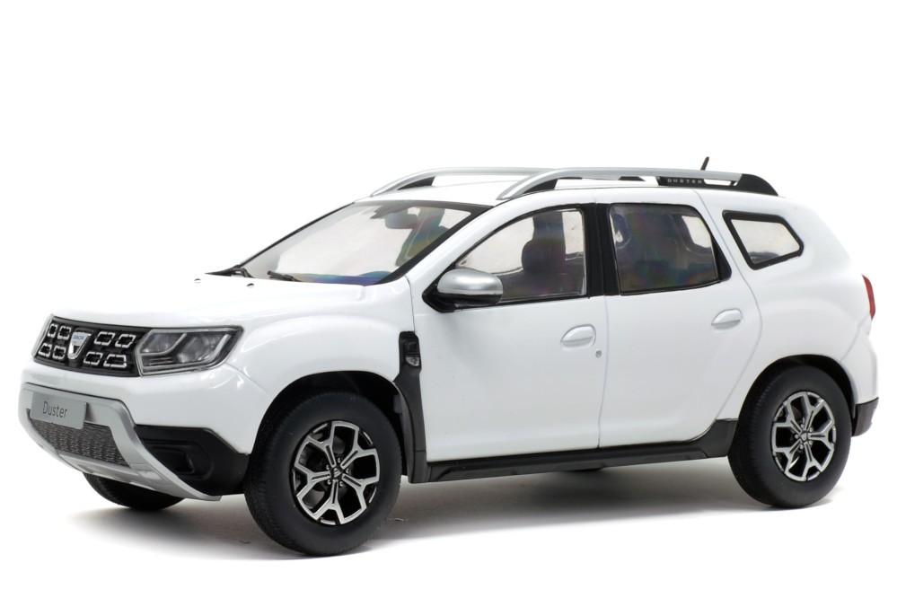 Dacia Duster Mk2 2018 White SOLIDO 1:18 SL1804602