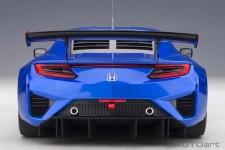 HONDA NSX GT3 2018 Hyper Blue 2018 - AutoArt Escala 1:18 (81896)