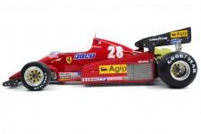 FERRARI 126C2B Formula 1 1983 Rene Arnoux - GP Replicas Escala 1:18 (GP33B)