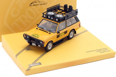 Land Rover RANGE ROVER Camel Trophy Sumatra 1981 - Almost Real Scale 1:43 (ALM410107)