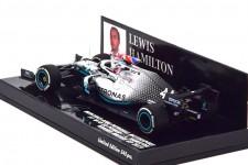 MERCEDES-AMG W10 F1 World Champion British GP 2019 L. Hamilton - Minichamps Scale 1:43 (417191044)