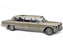 MERCEDES-Benz S-Class 600 Pullman W100 Con Techo Solar 1963 Gold Metallic - CMC Escala 1:18 (M-204)
