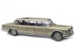 MERCEDES-Benz S-Class 600 Pullman W100 Con Techo Solar 1963 Gold Metallic - CMC Scale 1:18 (M-204)