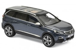 PEUGEOT 5008 GT 2016 Metallic Blue - Norev Scale 1:43 (473889)