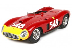 FERRARI 290MM Spider Ganador Mille Miglia 1956 E. Castellotti - BBR Models Escala 1:18 (BBRC1818V)